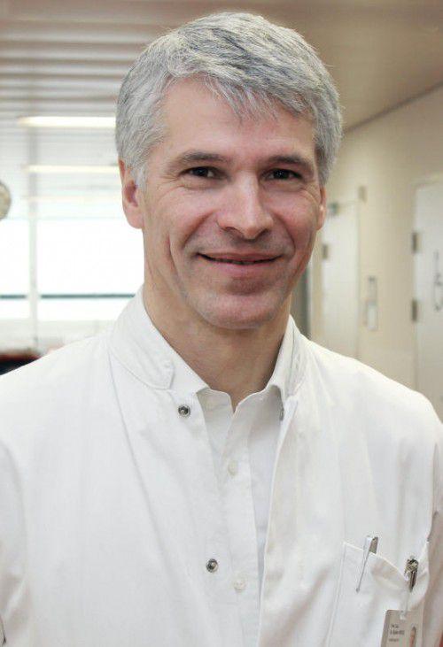 Primar Günter Höfle steht dem LKH Hohenems vor.