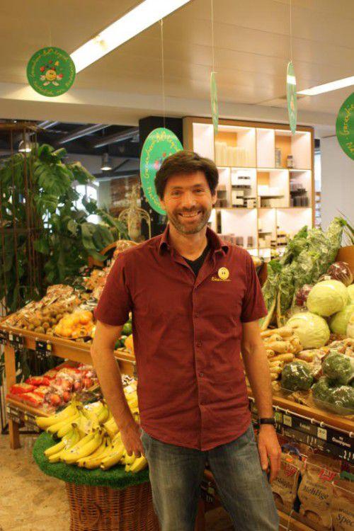 Regionalität, Verantwortung und Vernetzung spielen auch im Einkaufsmarkt von Arno Riedmann eine große Rolle.  Foto: doh