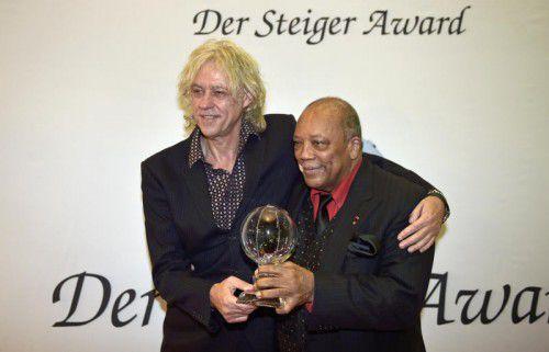 Rockstar Bob Geldorf. Foto: AP