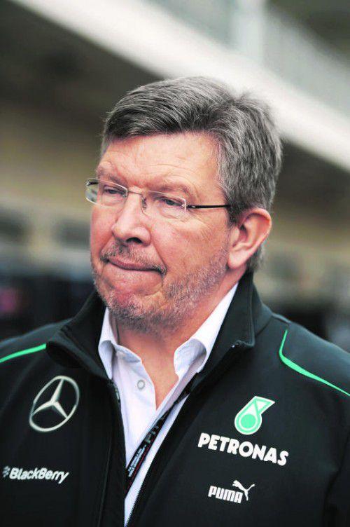 Ross Brawn traute Niki Lauda und Toto Wolff nicht. Foto: gepa