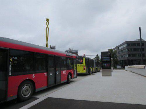 Das Stadtbusnetz soll in Richtung Westen erweitert werden. ha
