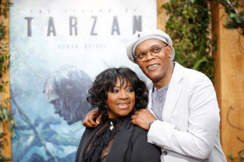 Samuel L. Jackson und LaTanya Richardson sind seit über 40 Jahren verheiratet.
