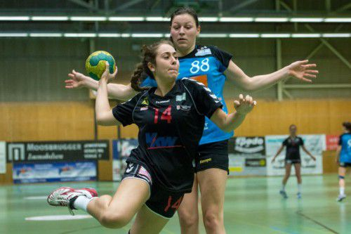 Sarah Gurschler erzielte ihr erstes Tor im Europacup. Foto: VN/DS
