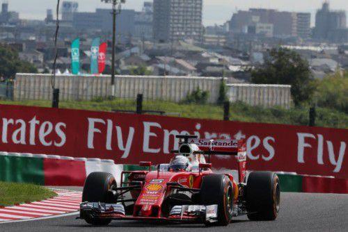 Sebastian Vettel und Ferrari müssen Tempo machen – sonst geht der Anschluss an die Topteams verloren.  Foto: apa