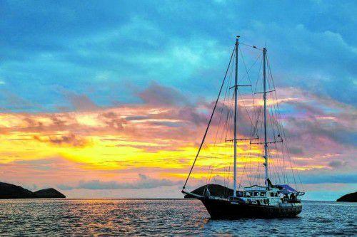 Seefahrer entdeckten die Inseln 1535 zufällig auf der Fahrt nach Peru.
