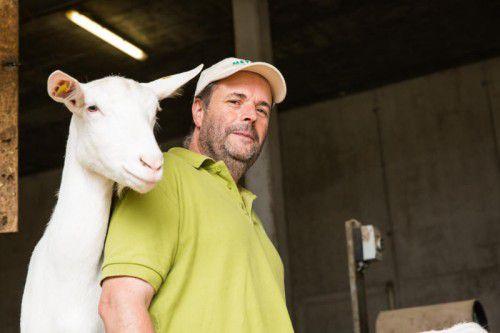 Seine erste Ziege bekam Ingo Metzler im Volksschulalter von seinem Onkel geschenkt.