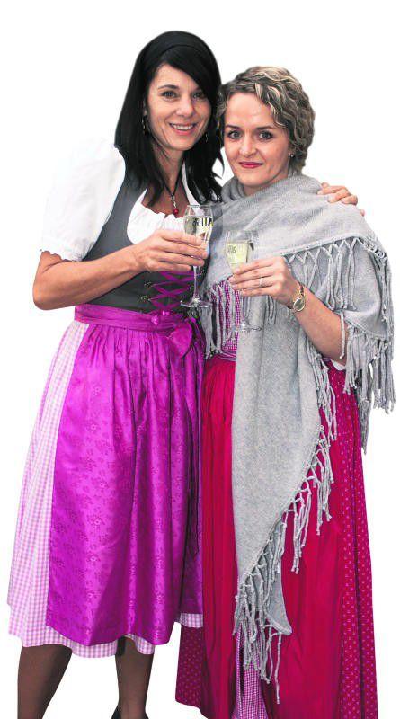 Silvia Schallert (l.) und Kathi Metz (Hotel Valavier).