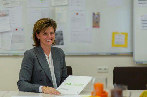 Simone Kots ist die Direktorin der Volksschule Ludesch, die einen begehrten Schulpreis gewann.  Foto: VN/Paulitsch