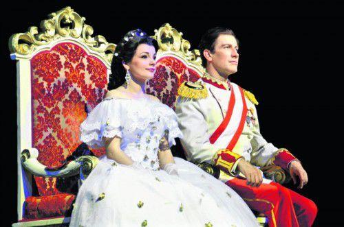 """""""Sissi – Liebe, Macht & Leidenschaft"""" heißt das Musical über das Leben der österreichischen Kaiserin Elisabeth.  Foto: veranstalter"""