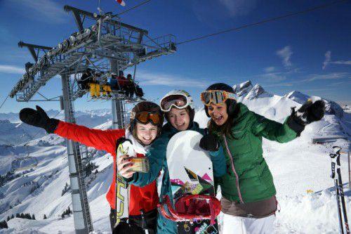 Sollen auch in der bevorstehden Skisaison auf ihre Rechnung kommen: Wintersportfans. Foto: VN/Berchtold