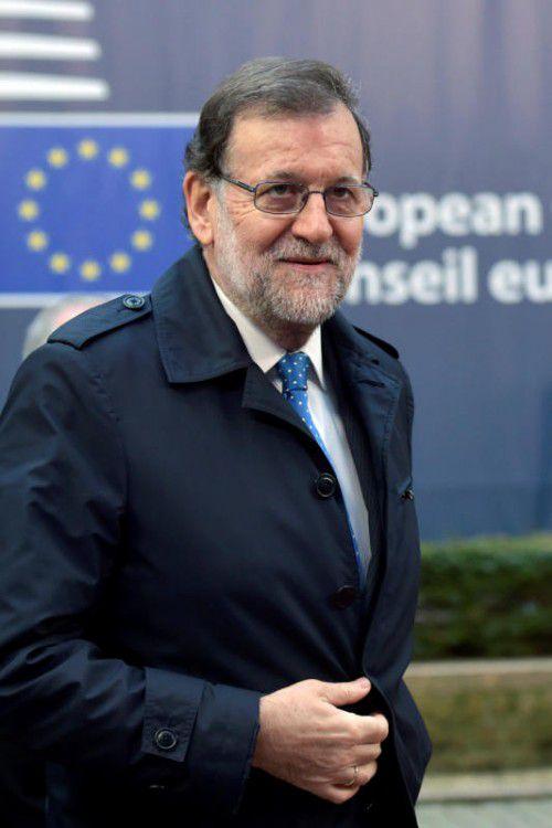 Sozialisten stellen sich nicht mehr gegen Mariano Rajoy. reuters