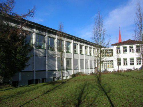 SP-Forderung nach Neubau der Volksschule Haselstauden.  Foto: ha