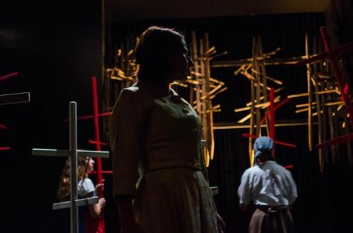 """""""Tannöd"""", das Theaterstück nach dem Bestseller-Roman von Andrea Maria Schenkel, wird noch zwei Mal in Götzis aufgeführt. foto: spielkreis götzis"""