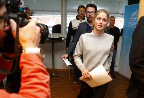 Therese Johaug wird beim Weltcupstart fehlen. Foto: apa