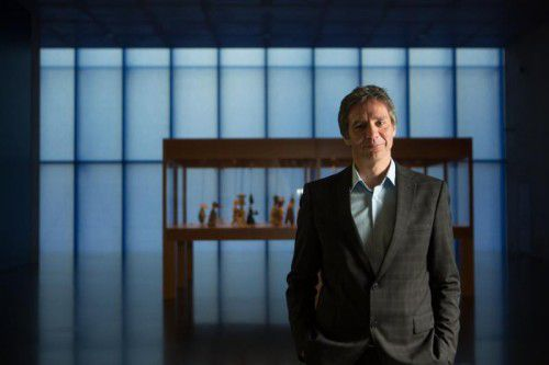 Thomas D. Trummer präsentierte das Programm zum 20-jährigen Jubiläum des Kunsthaus Bregenz. Foto: VN/Hartinger