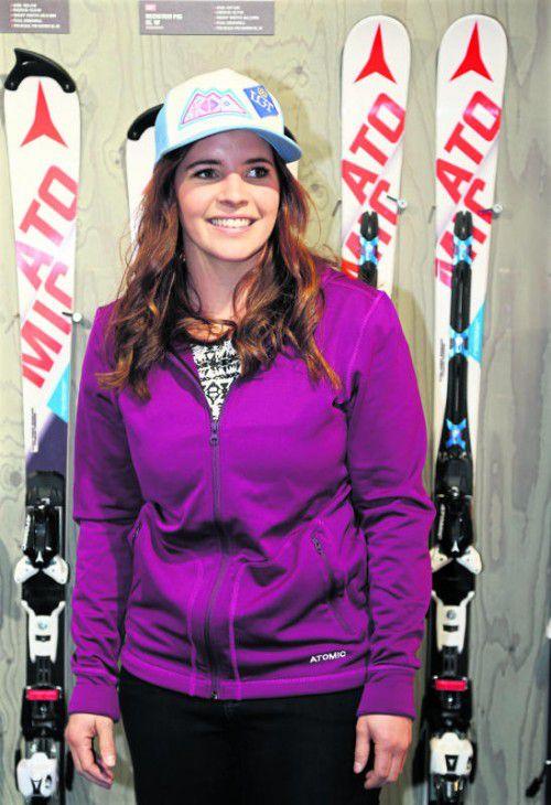 Tina Weirather kann die Skisaison ohne Verletzungssorgen angehen und möchte wieder ein Wörtchen im Gesamtweltcup mitreden. Foto: gepa