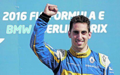 Titelverteidiger in der Formel E: Sebastien Buemi. Foto: Reuters