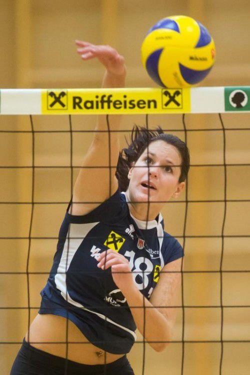 Veronika Reiner erreichte in beiden Partien je 18 Punkte. Foto: steurer