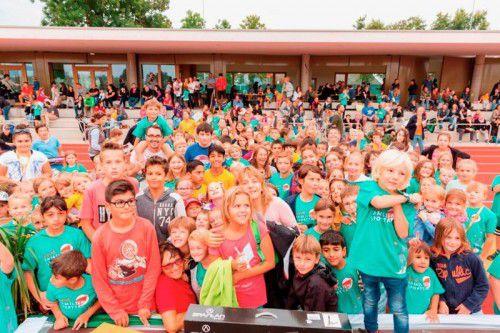 Viele Jugendliche konnten bei verschiedenen Stationen unterschiedliche Sportarten ausprobieren.  Foto: ASVÖ