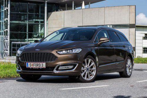 Vignale: Ford hat am Mondeo Hand angelegt und ihm eine Premium-Ausstattungslinie verpasst. Fotos: VN/Steurer