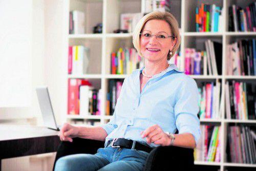 """Vital mit Schüßler-Salzen"" heißt der Vortrag von Margit Müller-Frahling am 12. Oktober 2016 bei Russmedia. Foto: klemens kordt fotodesign"