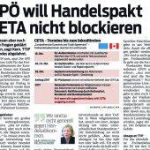 CETA gefährdet Regionalität
