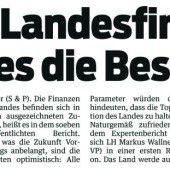 ÖVP-Klub segnet Landesbudget ab
