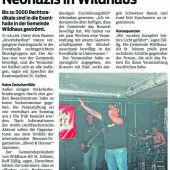 Polizei: Neonazi-Treffen sind im Kanton St. Gallen nicht erwünscht