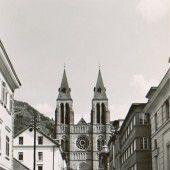 VORARLBERG EINST UND JETZT. Die Herz-Jesu-Kirche in Bregenz