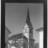 vorarlberg einst und jetzt. Pfarrkirche St. Nikolaus in Fußach