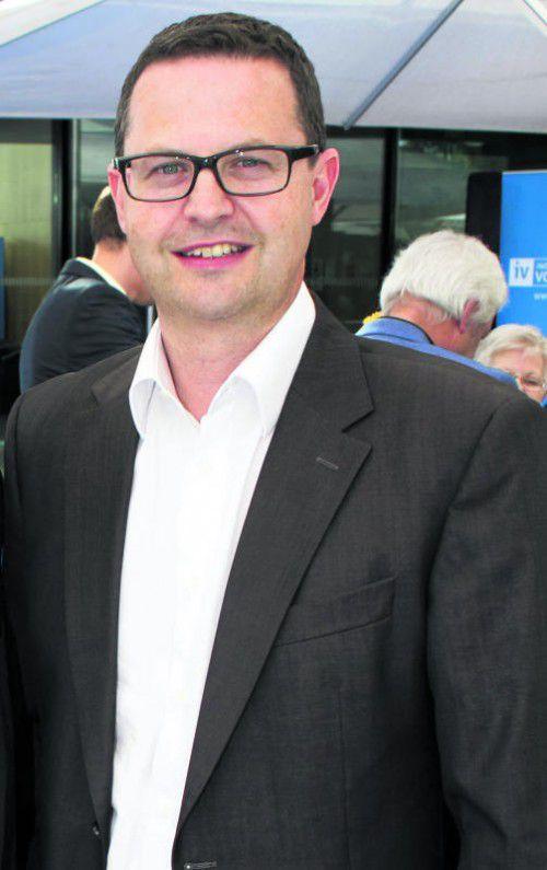 War seit 2011 Geschäftsführer: Quido Nachbaur. Foto: Franc