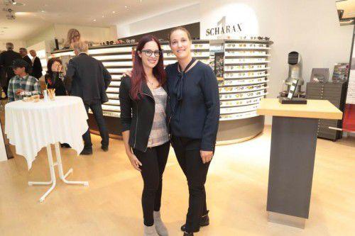 Waren begeistert: Corinna Armellini (l.) und Miriam Lutz.