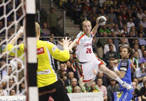 Weber und Magdeburg scheiterten im Pokal an Kiel. Foto: Verein