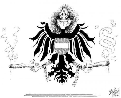 Weiterentwickelte Form von Berni Amanns Staatsadler!