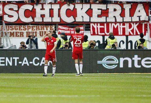 Wenig Zufriedenheit herrscht derzeit in der Bayern-Chefetage rund um Karl-Heinz Rummenigge mit den Starspielern. Fotos: Reuters/ap