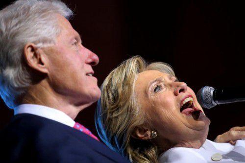 Wikileaks hat am Donnerstag E-Mails veröffentlicht, die ein neues Licht auf das Geschäftsgebaren der Clinton-Familie werfen. Foto: Reuters