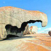 Felsskulpturen im Westen