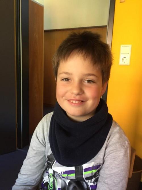 Xavien Christof (9). Fotos: VN/kum