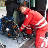 Rotes Kreuz testet neue Ausstattung