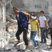 Russland und Syrien stoppen Luftangriffe