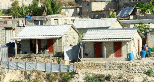 Zumindest die Caritas-Häuser stehen noch. Foto: caritas