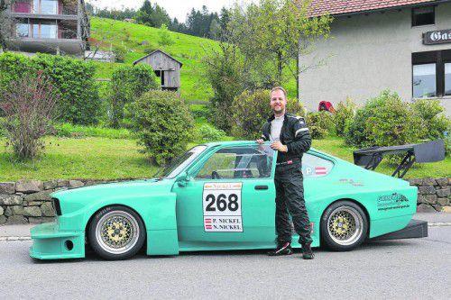Zweiter Cup-Meistertitel für Patrik Nickel im Renn-Kadett. Foto: Noger