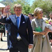Niederländische Royals zu Besuch in Australien