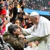 Papst richtet einen Appell an die Christen