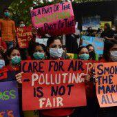 Proteste gegen Smog-Belastung
