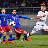 Italien mit 4:0-Sieg gegen Liechtenstein vor Deutschland-Spiel