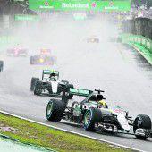 Hamilton-Sieg im Regenchaos von São Paulo, Titelentscheidung vertagt