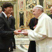 Weltmeister bei Papst Franziskus