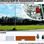 Beim Altstoffzentrum Vorderland geht es nun an die Detailplanung