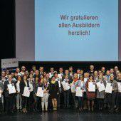 Ausgezeichnete Ausbilder in Vorarlberger Lehrbetrieben